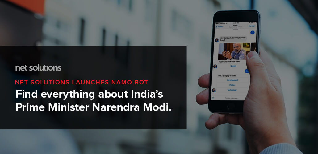 Net Solutions Launches Namo Bot– Find Everything About PM Modi