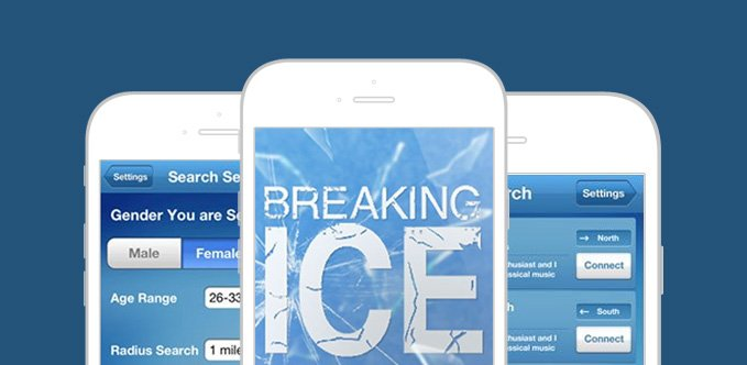 Breaking Ice App - A Geo Location-Based Social Dating App
