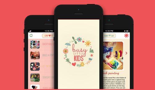 An iPhone App For Working Mothers To Keep Kids Engaged