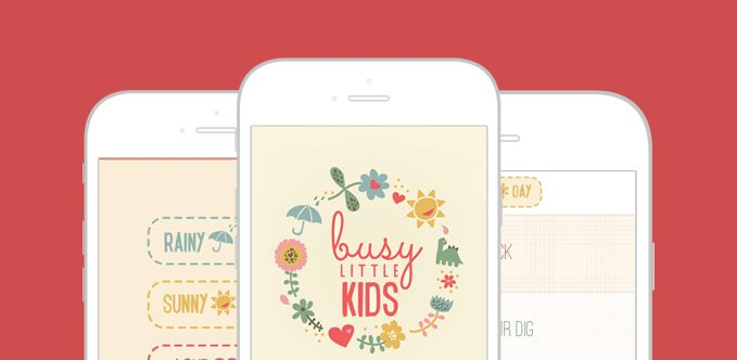 An iPhone App For Working Mothers To Keep Their Kids Engaged