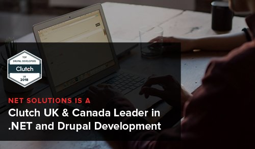 Net Solutions Becomes Clutch UK & Canada Leader in .NET and Drupal Development
