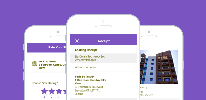 Intuitive Mobile App For Offering And Renting Lodging Services