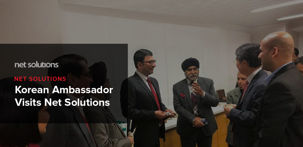 Korean Ambassador Visits Net Solutions