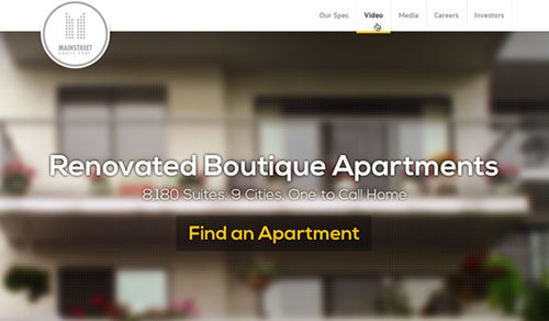 Responsive Web Experience For Canadian Real Estate Firm
