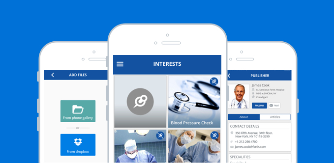 Mobile Social Platform For Healthcare Professionals