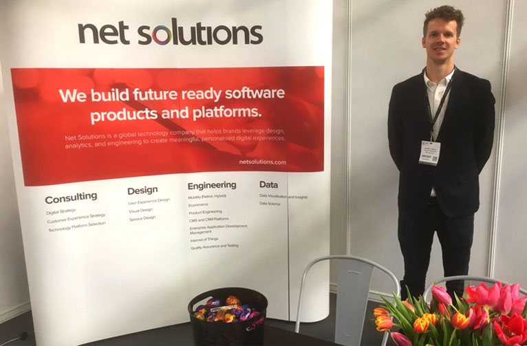 Net Solutions exhibits at Internet Retailing Expo