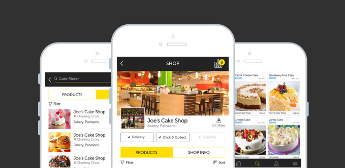 Double-Sided Marketplace That Enables Users To Buy and Sell Food Online