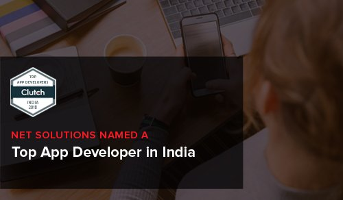 Net Solutions Named a Top App Developer in India