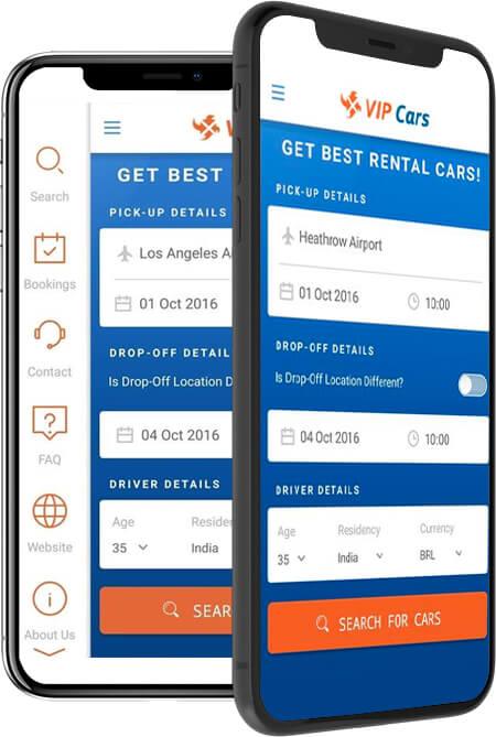 VIP Cars - An Online Car Rental Booking Platform