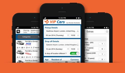 Premium Mobile App Experience For Booking Taxi