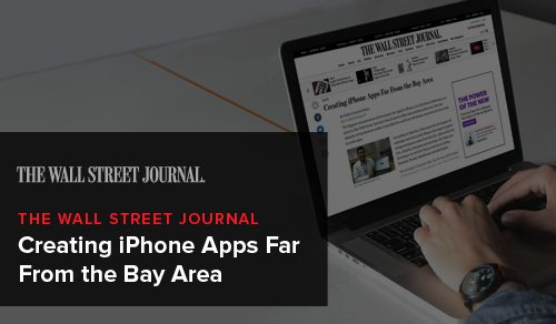 Creating iPhone Apps Far From the Bay Area - The Wall Street Journal