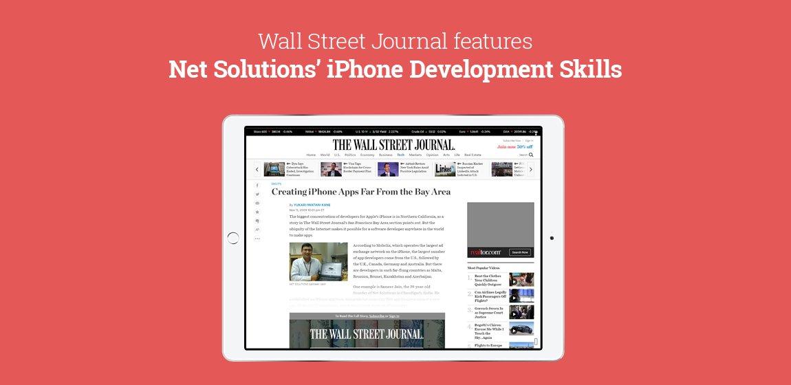 Wall-Street-Journal-features-Net-Solutions-iPhone-Development-Skills-2