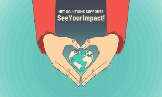 Net Solutions Supports Seeyourimpact