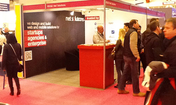 Net Solutions at the InternetWorld in London