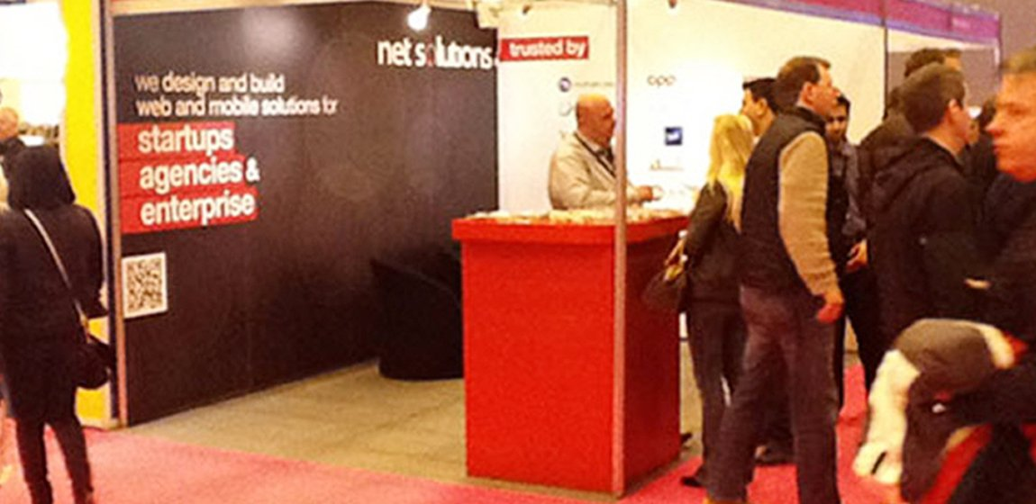 Net Solutions at the InternetWorld in London from May 10th to 12th