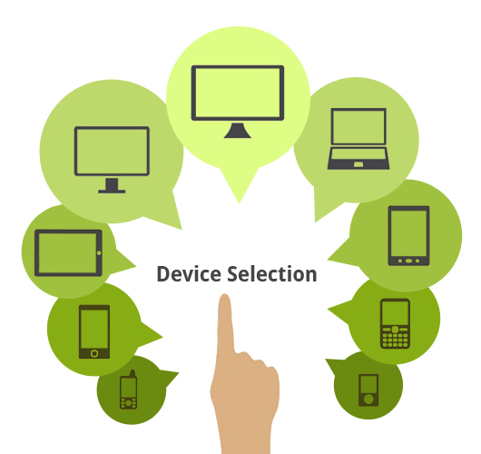 Mobile app testing for different devices