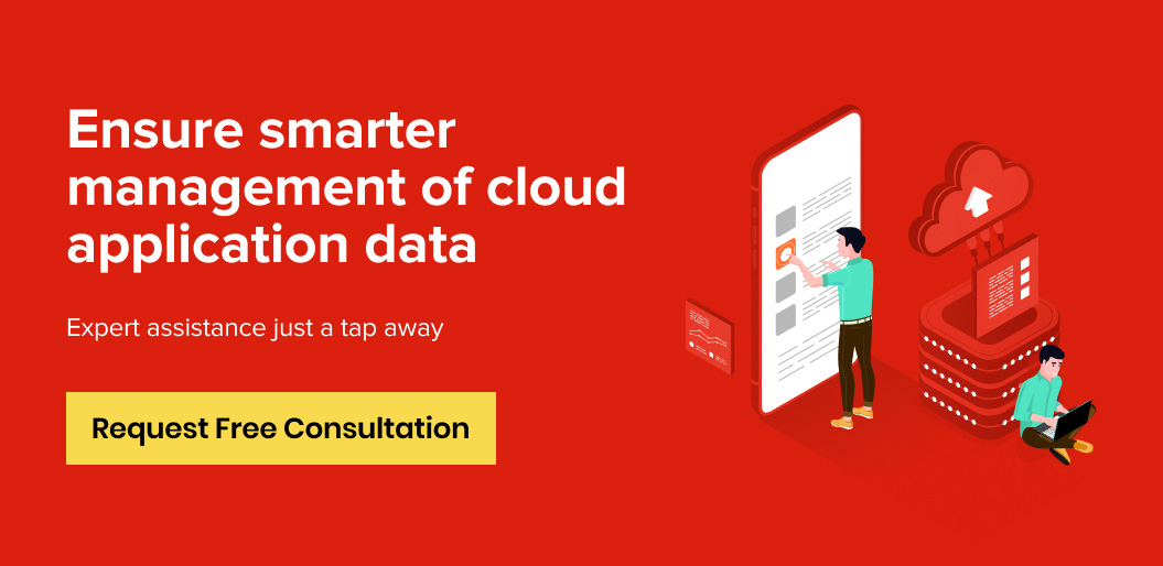 Contact Net Solutions for managing cloud application data