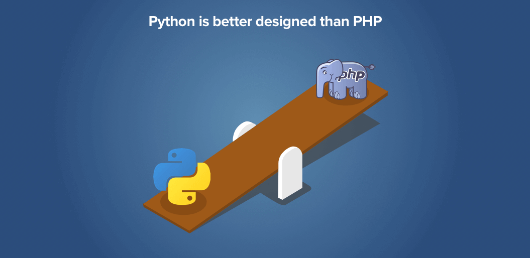 Python has better design than PHP