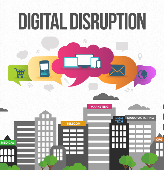 How Digital is going to Disrupt Your Business in 2015
