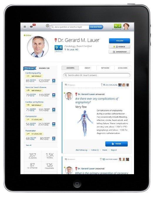 Healthtaps-iOS-graphic-user-interface