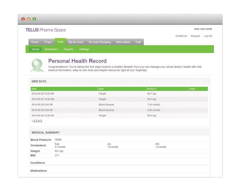 Telus-Health-Integration-Platform-patient-data-scr