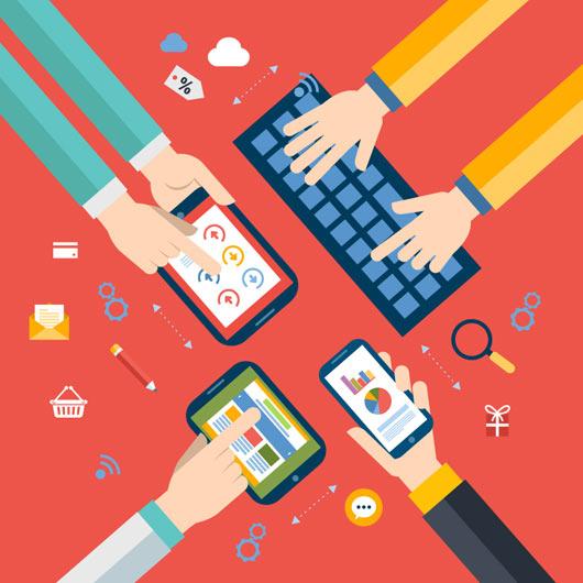 Desktop and Mobile Customer Engagement