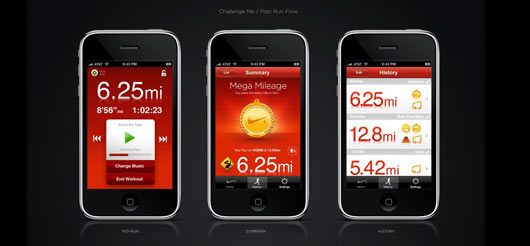 Nike + App Customer Engagement