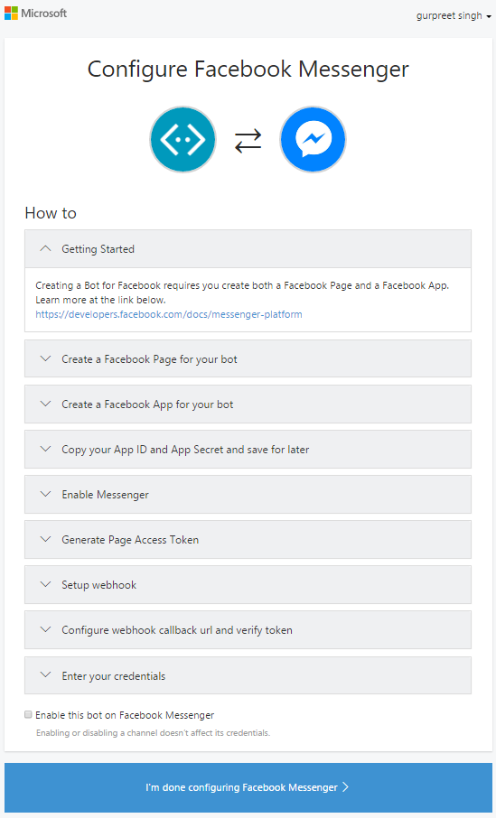 A Step By Step Guide To Develop A Conversational Facebook ChatBot