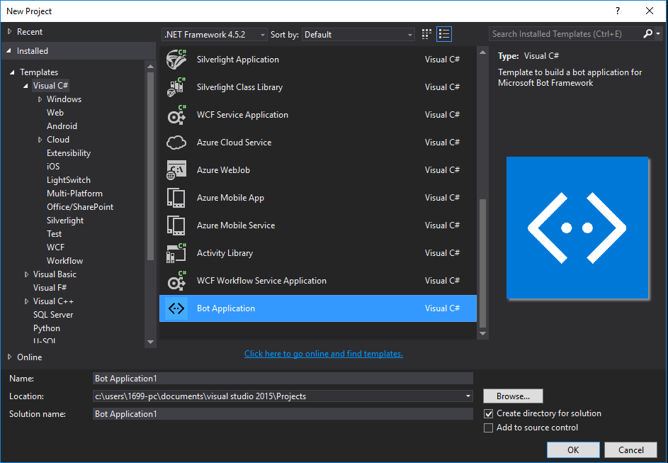 Get started in Visual Studio