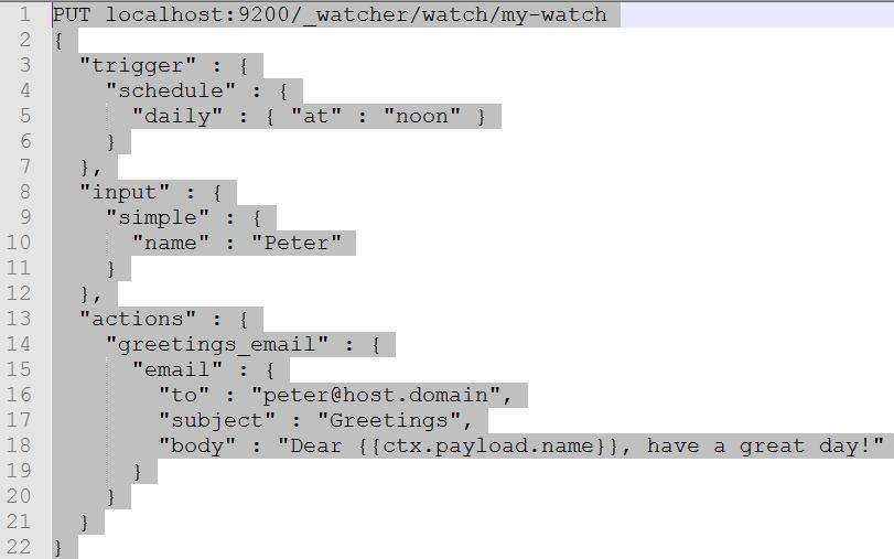 Configure A Watcher