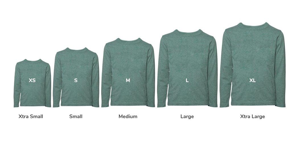 T-Shirt-Sizes