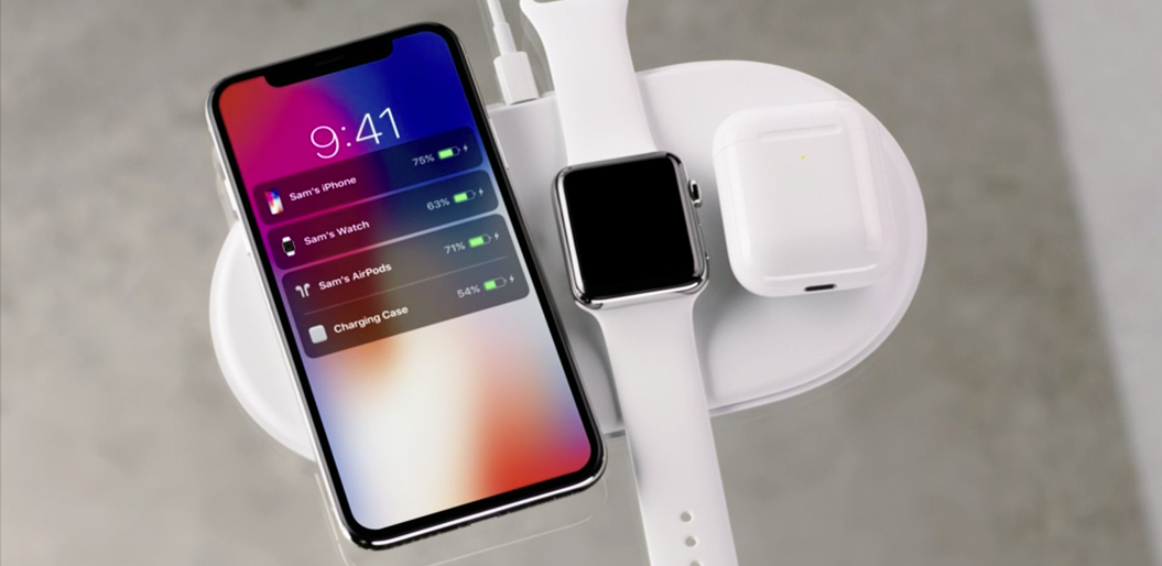 Finally, Apple has decided to drop the cable, introducing AirPower for simultaneous charging  of your Apple products.