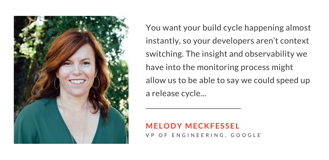 Melody Meckfessel on importance of fast software release