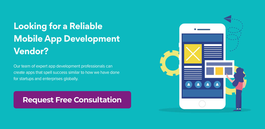 Request Free consultation for mobile app development
