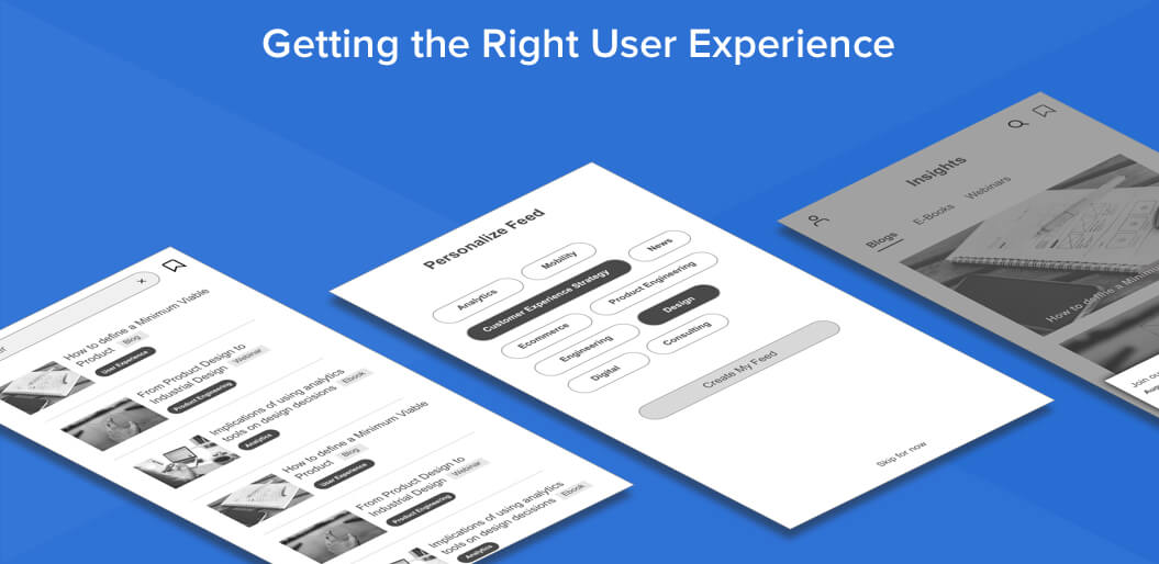 Right app development vendor will provide the right UX