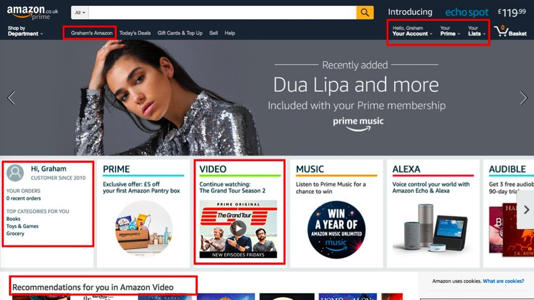 amazon-personalisation