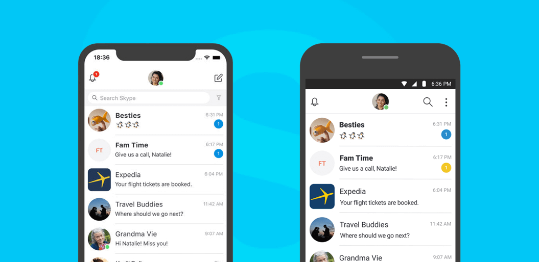 Difference UI in iOS and Android