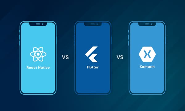 Flutter vs React Native vs Xamarin-Which is the right framework