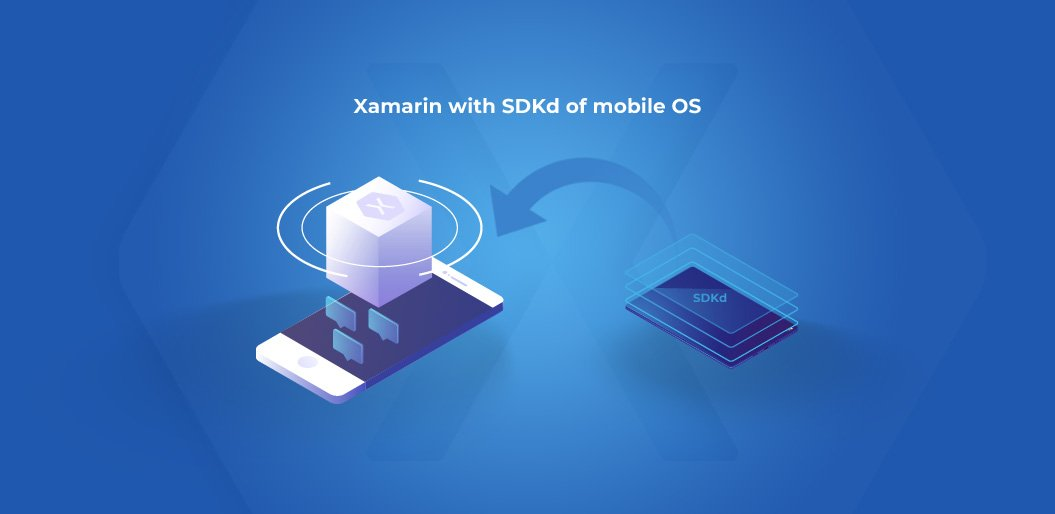 xamarin app development offers easy integration
