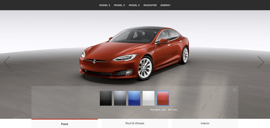 User Experience - Tesla