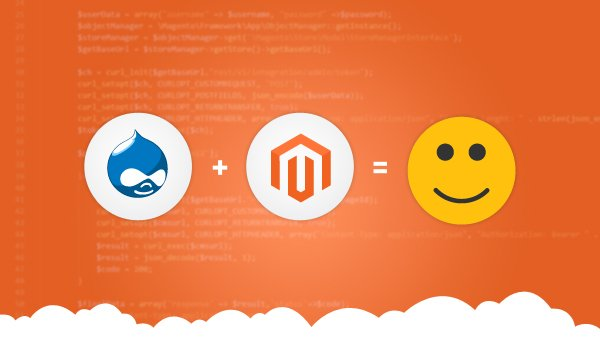 Drupal + Magento Headless Integration