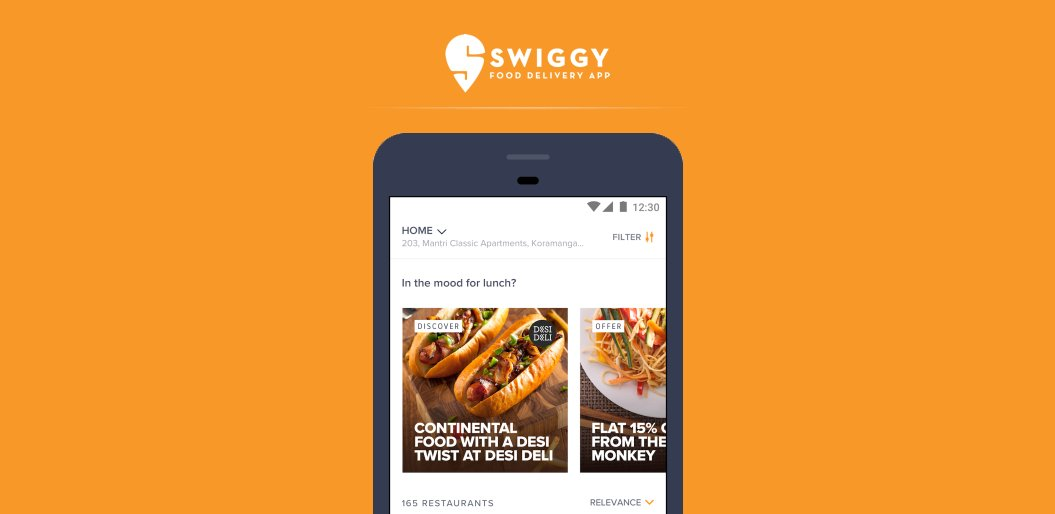 Swiggy on-demand food delivery app