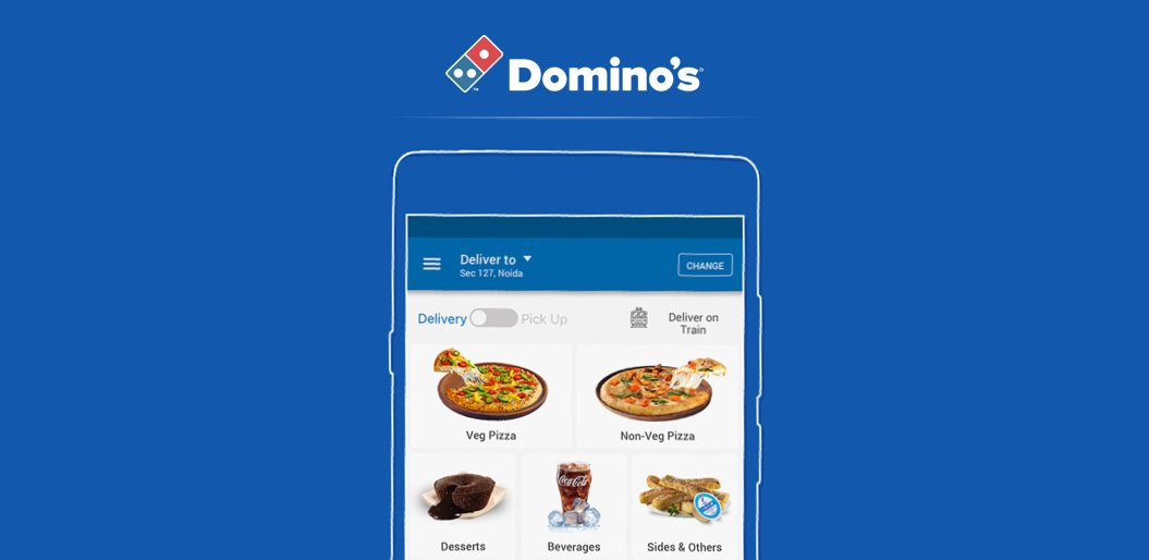 Domino's Pizza online delivery app