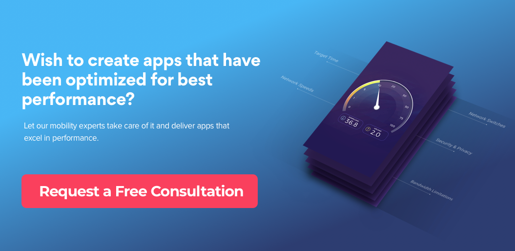 Request Free Consultation for App Performance Optimization