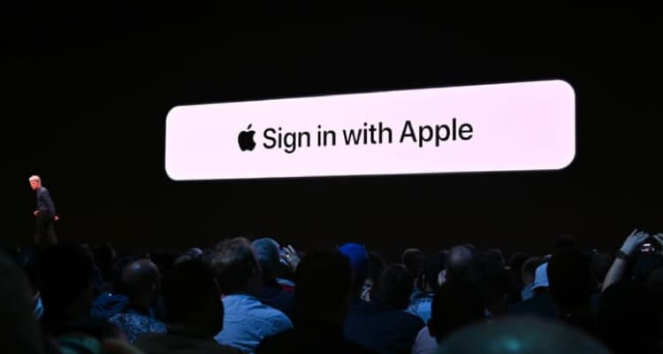 sign-in with apple, a security approach by apple for mobile apps