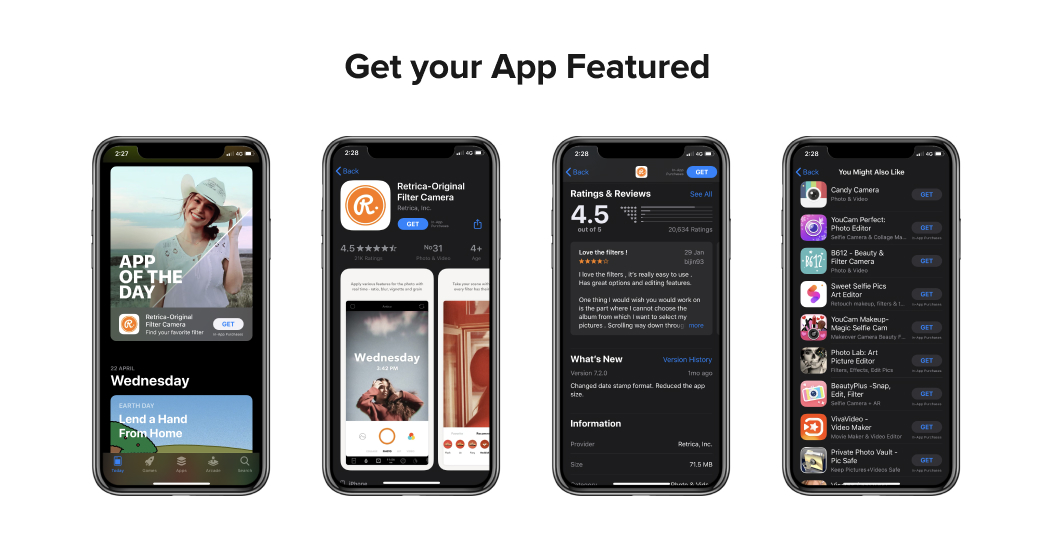 Get your App Featured