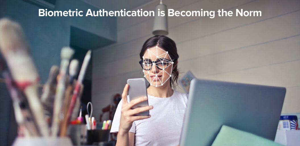 Biometric authentication for UX