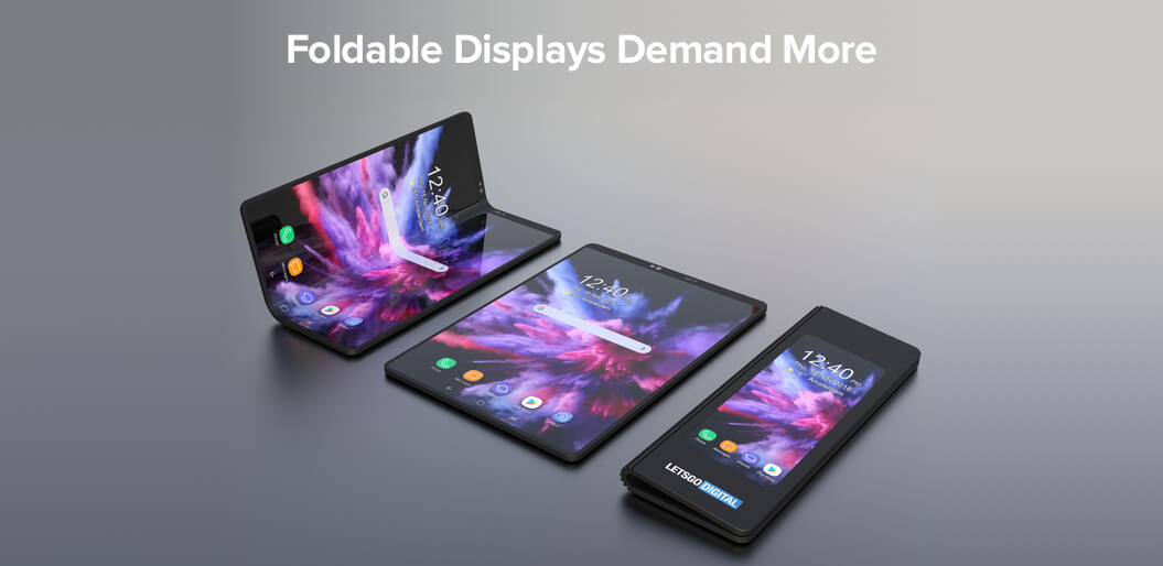 Foldable displays are the new UX trend 2019