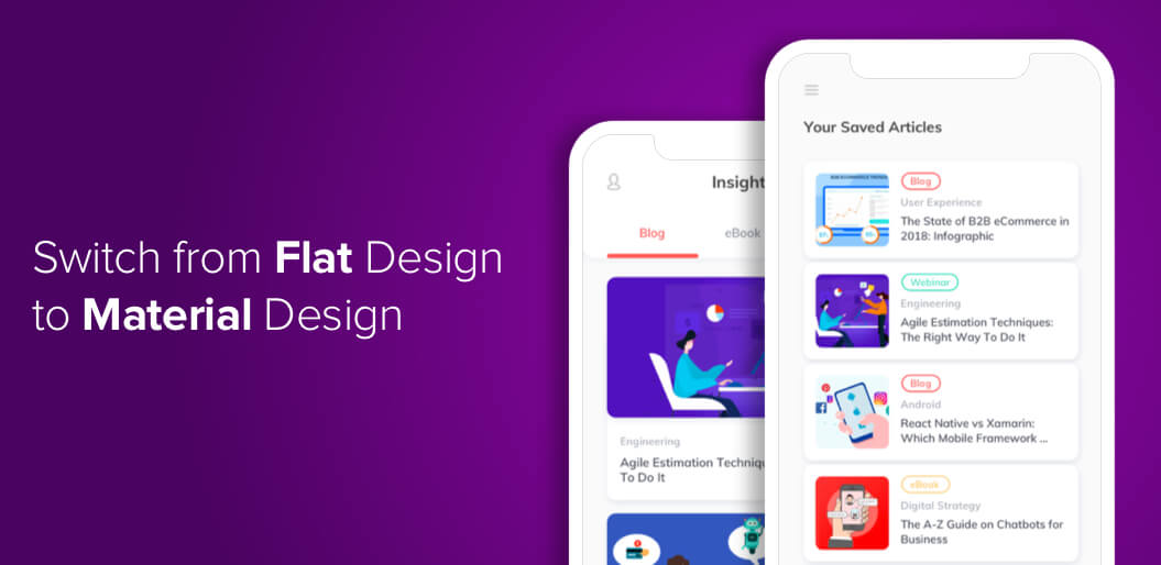 Material design is the new UX trend