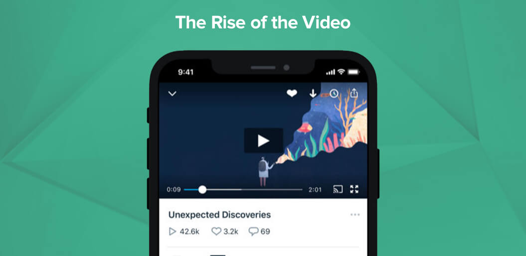 Video is a rising UX trend